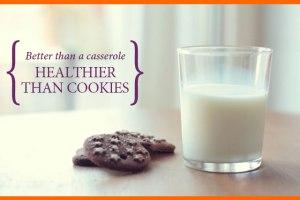 Healthier than Cookies