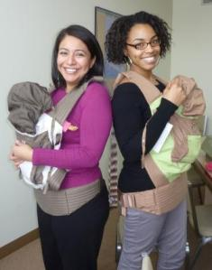 Babies on the Go - Brenda and Brittney 076