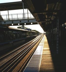 Map Your Journey - empty train platform